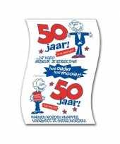 Toiletpapier man 50 jaar