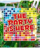 Tuinborden party